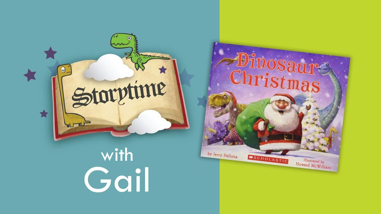 "Storytime with Gail: ""Dinosaur Christmas"""