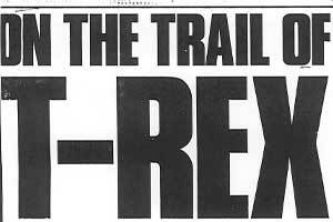 On the Trail of T. rex